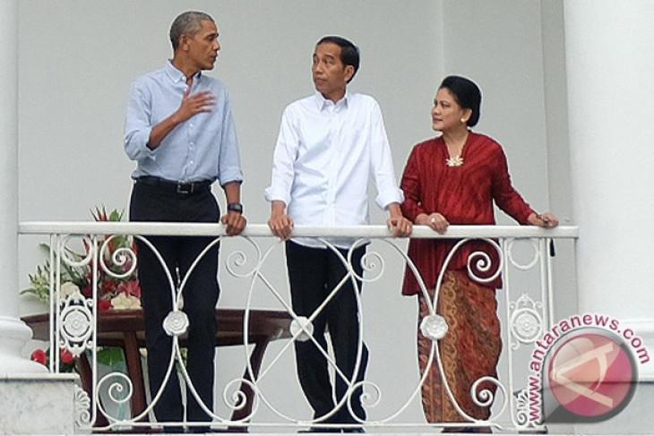 Jokowi treats Obama to lunch