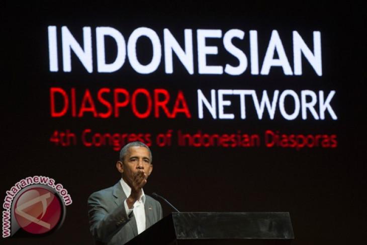 Obama delivers speech at Indonesian Diaspora Congress