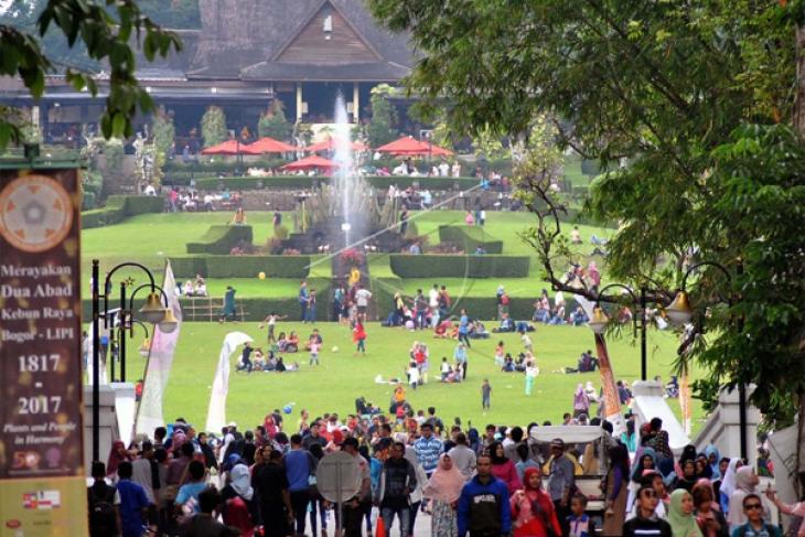 Istana 'Open' Gratis Masuk Kebun Raya Bogor