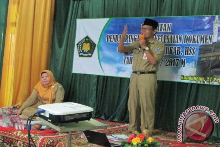 CJH Hulu Sungai Selatan Ikuti Manasik Haji