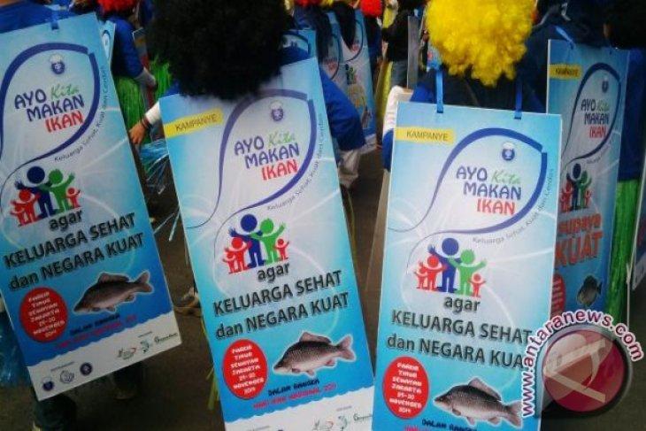 DKP Kabupaten Bangka Barat Kampanyekan Gemar Makan Ikan