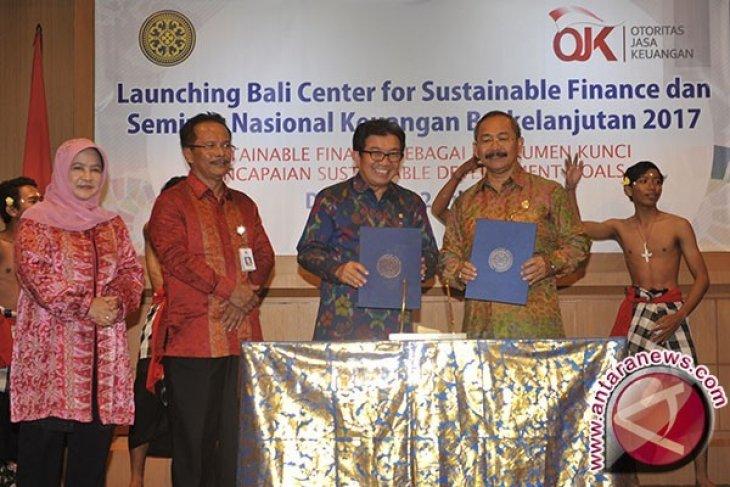 OJK Luncurkan Pusat Keuangan Berkelanjutan di Unud
