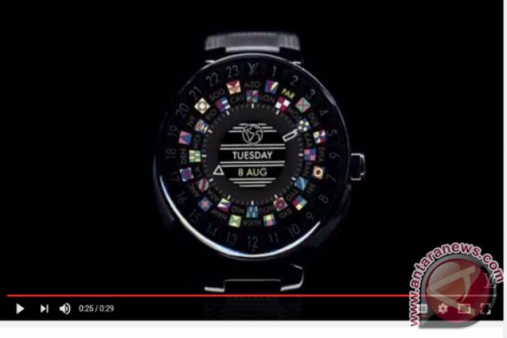 Louis Vuitton Tawarkan Arloji Pintar Seharga Rp39 Juta