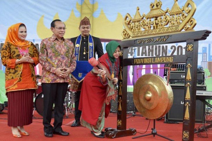 Pameran Industri Kreatif Dan Kuliner Meramaikan Harganas XXIV Lampung