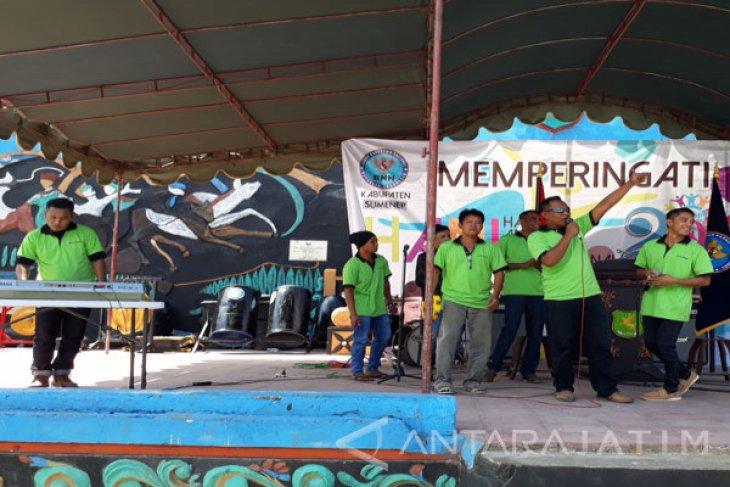 Kelompok Musik Rutan Sumenep Tampil di Perayaan