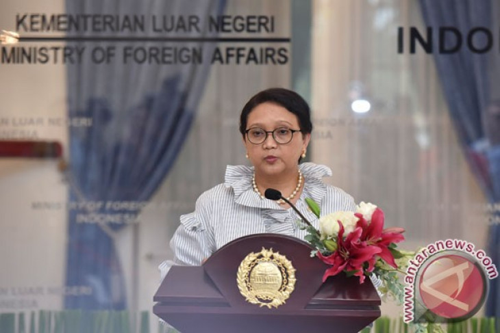 Marsudi, Wang Yi discuss Palestine issue