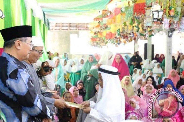 55 Santri MI-Ponpes Kapuh Ikuti Khataman Massal Al Qur'an