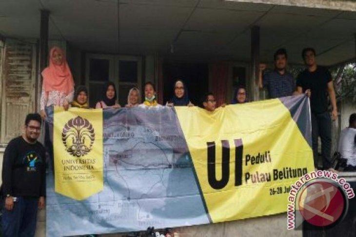 UI Peduli Bantu Korban Banjir Belitung Timur