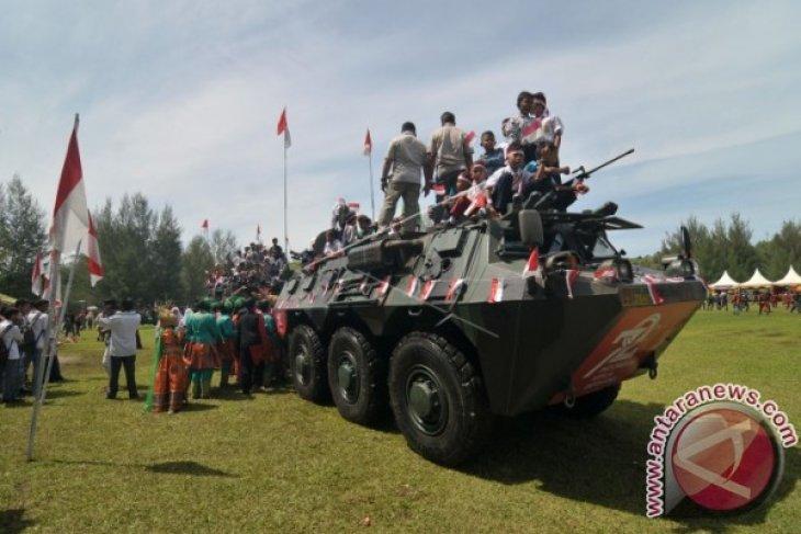 Pameran alutsista meriahkan Hut TNI di Lhokseumawe