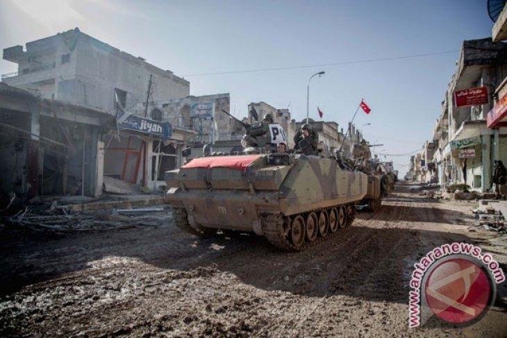 Erdogan bahas operasi di Suriah dengan Putin