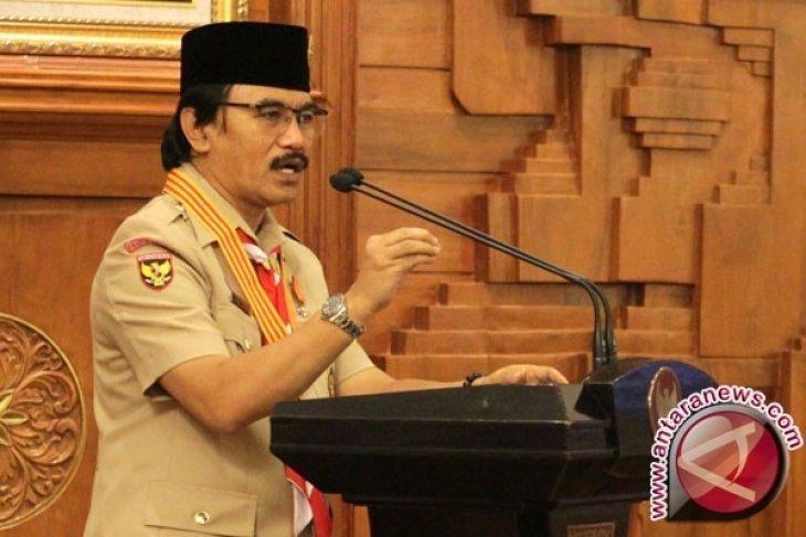 Ketua Kwarnas Pramuka Laporkan Persiapan Raimuna ke Presiden Jokowi