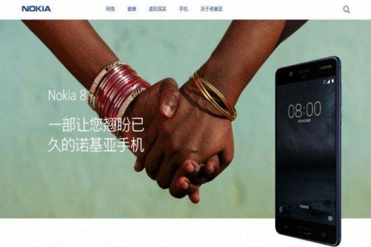 Nokia 8 yang dijuluki