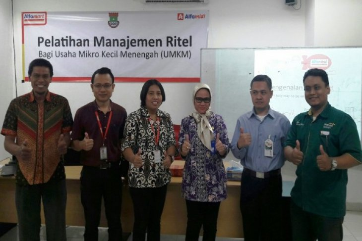 Alfamart Gelar Pelatihan Manajemen Ritel Cerahkan UMKM