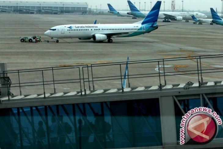 Sektor penerbangan belum terpengaruh cuaca buruk