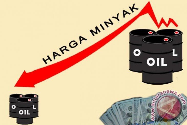 Harga minyak dunia turun