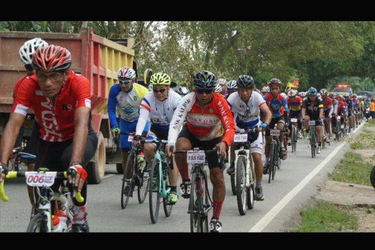 Sri Aman titik awal bersepeda di Jantung Borneo