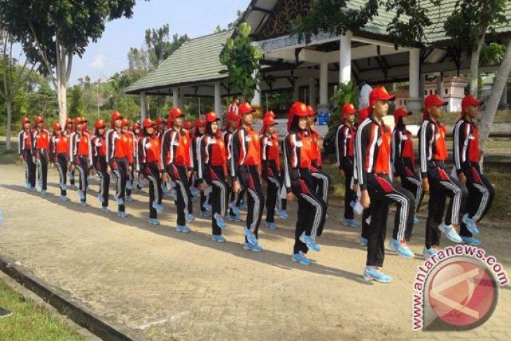 Paskibra Kabupaten Muarojambi tuntaskan gladi resik