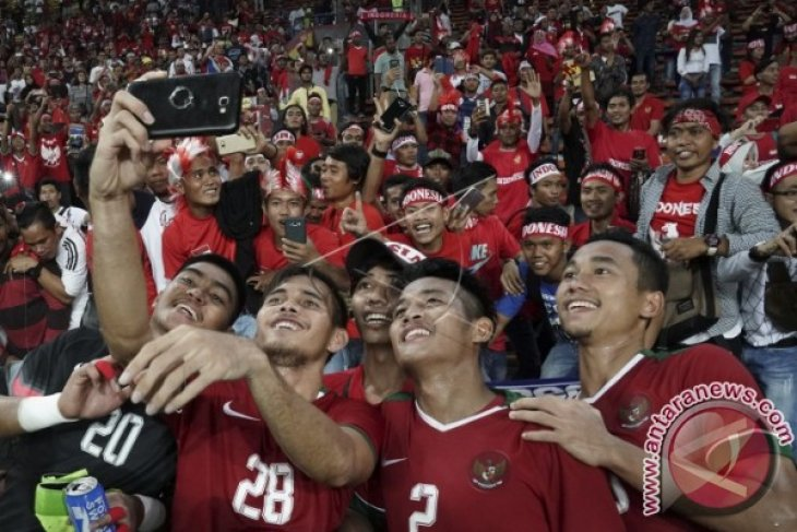 Erick Thohir apresiasi animo suporter Indonesia