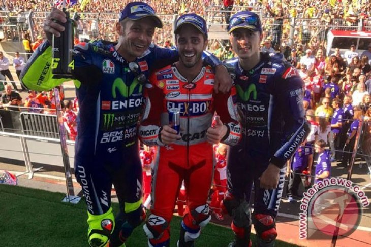 Dovizioso Menangi Grand Prix Britania