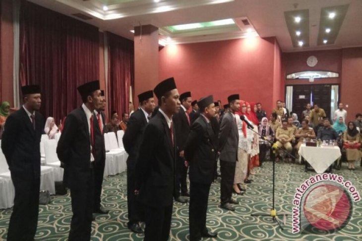 Bawaslu Gorontalo Lantik Anggota Panwaslu Kabupaten-Kota