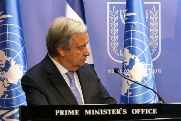 UN secretary general expresses sorrow over quake victims of Palu-Donggala