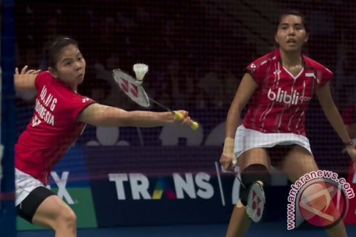 Duet Srikandi Indonesia ditumbangkan Jepang pada perempat final