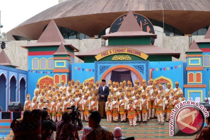 Presiden Jokowi: Anak Indonesia Jangan Takut Bermimipi