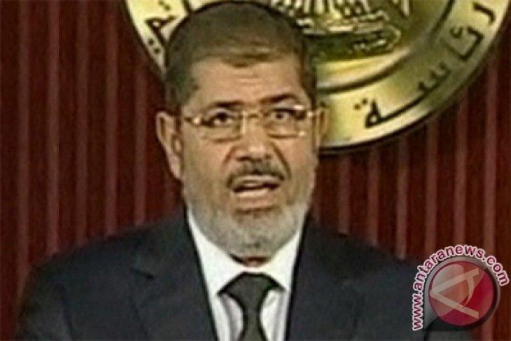 Mantan Presiden Mesir Mohamed Mursi  tutup usia