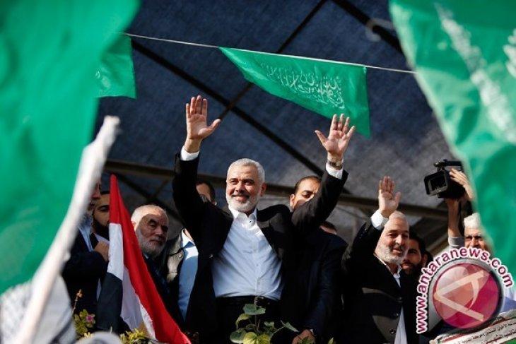 Haniyeh terpilih kembali sebagai ketua Hamas, Palestina