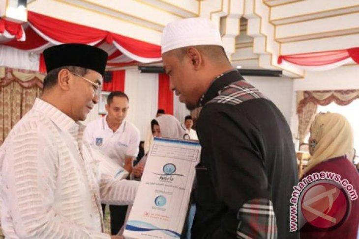 Bupati HSS Sambut Kepulangan 36 Jemaah Haji