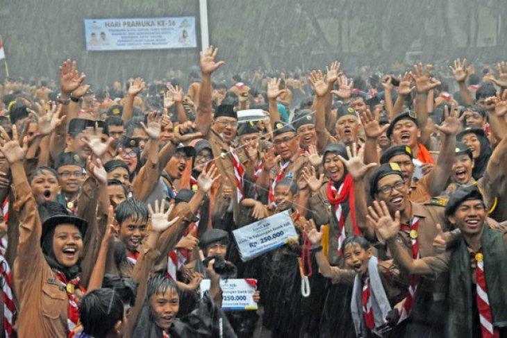 Gerakan Pramuka perekat NKRI