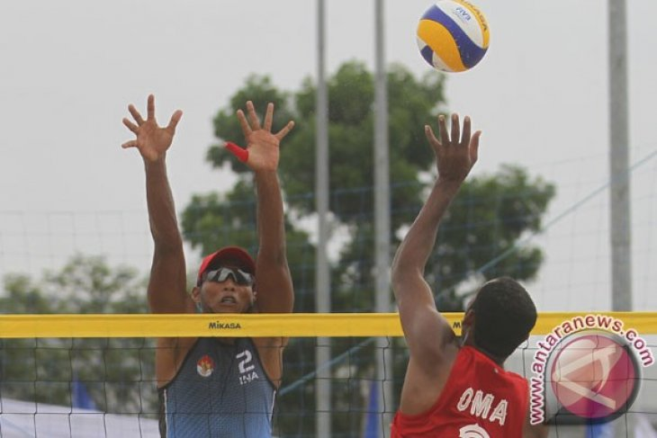 Asian Games (beach volleyball) - Indonesia men`s team beats Afghanistan
