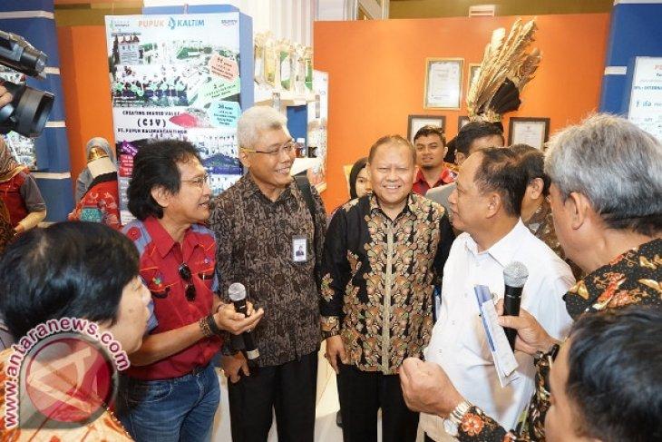 Pupuk Kaltim Ikuti Indonesia Quality Expo 2017 di Makassar