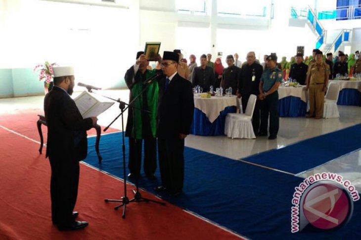 Sjobirin Hasan Dipercaya Kembali Pimpin PDAM Tirta Dharma Kota Bengkulu