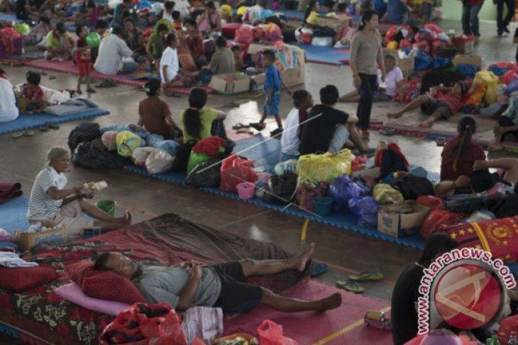 Posko SamsungCare Siapkan Mesin Cuci Gratis untuk Pengungsi Gunung Agung