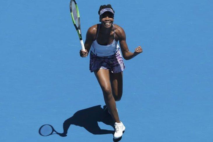 Grand Slam -  Venus Williams bermimpi lengkapi turnamen meski menginjak usia ke-40