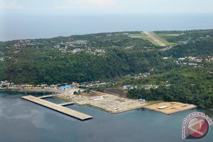 Indian Warship Calls at Sabang, Aceh
