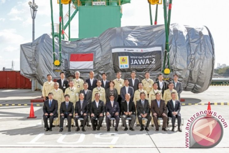 MHPS ships two gas turbines for 880 MW class Indonesian GTCC power generation system