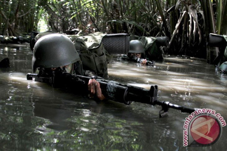 TNI denies use of rockets to chase armed group