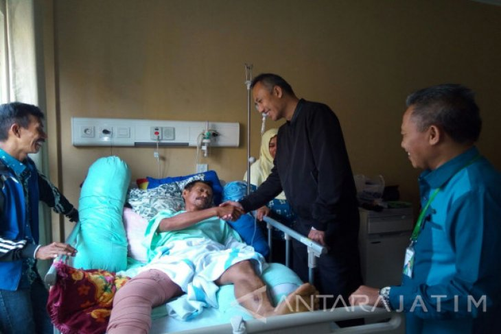 BPJS Ketenagakerjaan Berikan Santunan Kecelakaan Proyek Tol Pasuruan-Probolinggo