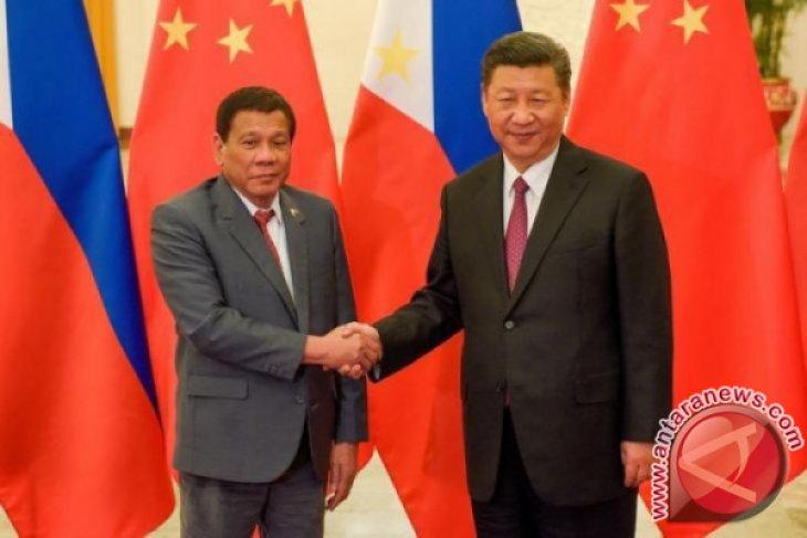 Xi tegaskan ke Duterte akan damai di Laut China Selatan