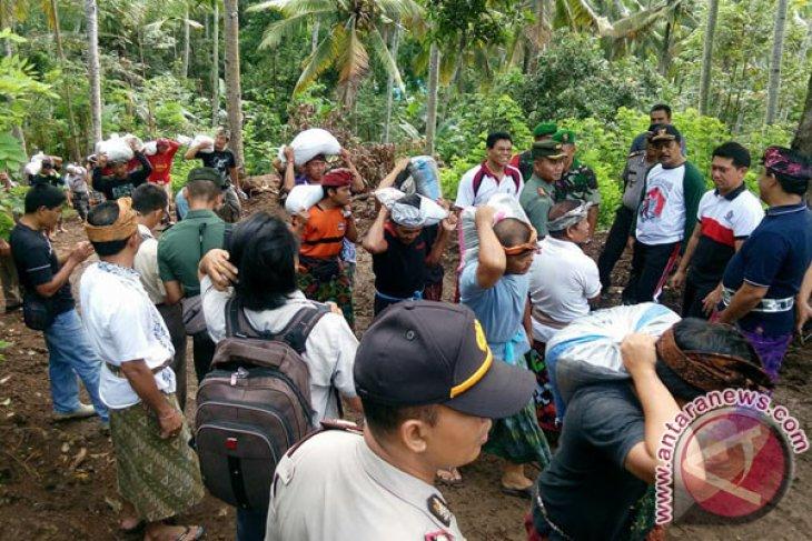 Bupati Klungkung: Kebutuhan Logistik Pengungsi Gunung Agung Cukup