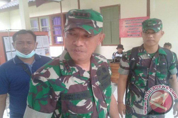 1.100 Personel TNI Bantu Evakuasi Pengungsi Gunung Agung