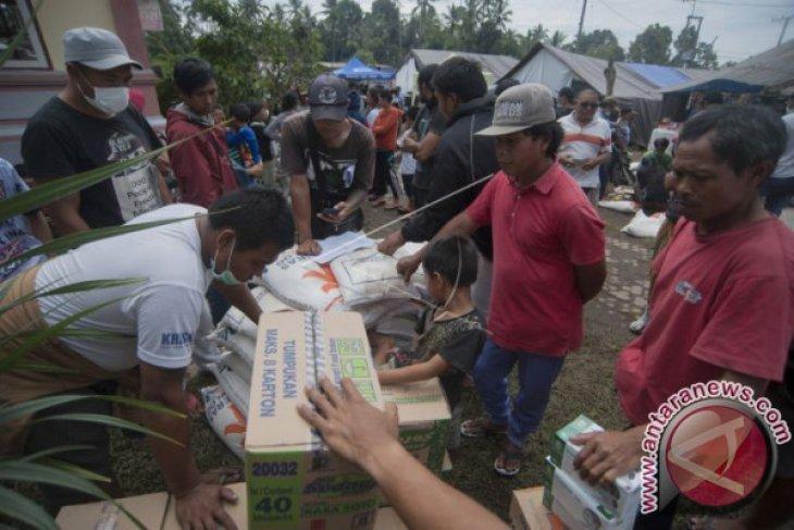 BNPB: Pemerintah Jamin Penanganan Pengungsi Gunung Agung