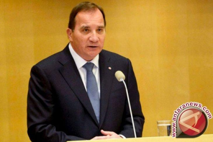 PM Swedia kutuk serangan sinagoge, tiga tersangka ditahan