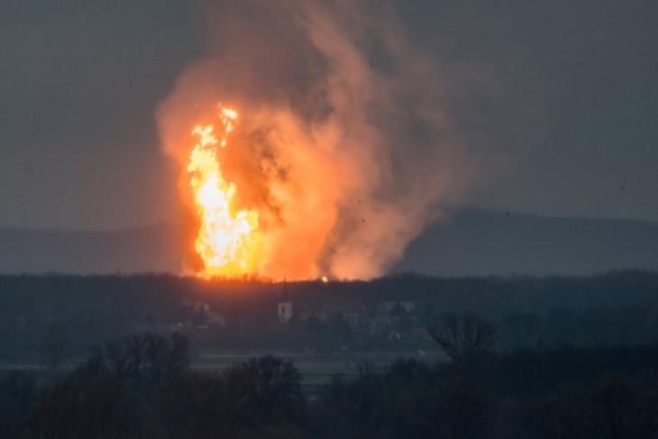 Ledakan pipa gas sebabkan dua tewas, 51 lainnya terluka