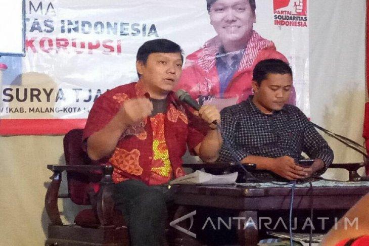 Lolos Verifikasi di Malang, PSI Gelar Syukuran