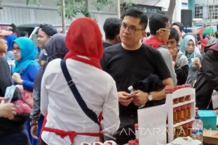 Andi Kagumi Potensi UMKM Surabaya