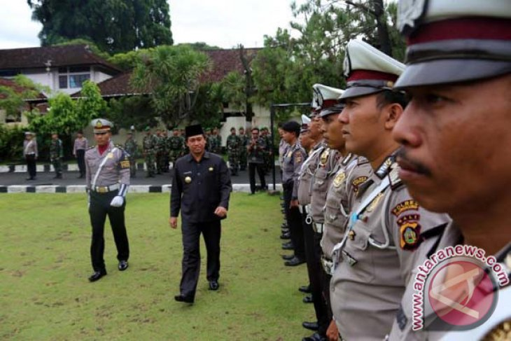 Polres Klungkung Gelar Operasi Lilin Libatkan 250 Personel