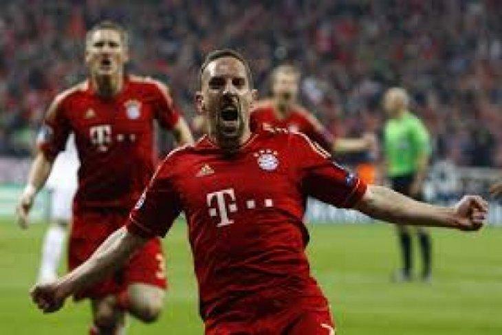 Franck Ribery tinggalkan Munchen akhir musim